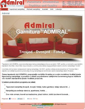 <b>Namještaj Admiral Batrina- 2009. g.</b>